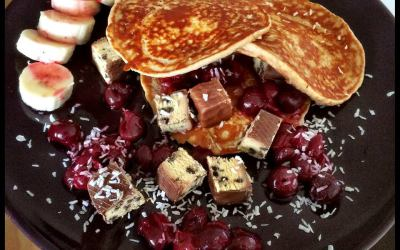 High Carb/Low Fat – Protein Pancakes